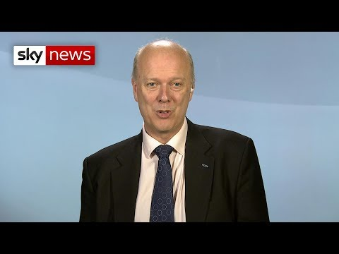 Chris Grayling: Government has plans for tougher laws on drones