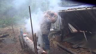 Рыбалка 2018 на хариуса и щуку в тайге Сибирь