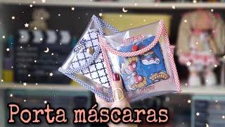 Porta Mascaras para Limpas e Sujas