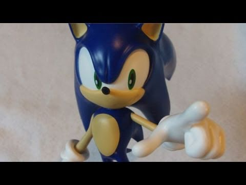 Sonic the Hedgehog 20th Anniversary Statue from Joypolis Unboxing [Sonic Collectible Reviews]