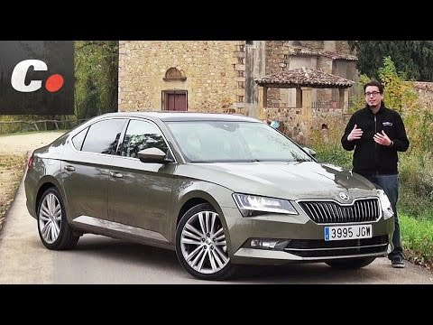 Skoda Superb Prueba An lisis Test Review en espaol coches.net