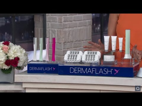 DERMAFLASH 2.0 LUXE Facial Exfoliation Device on QVC