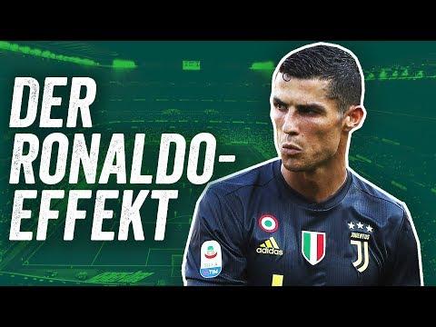 Cristiano Ronaldos Debüt für Juventus - der Ronaldo-Effekt in der Serie A!