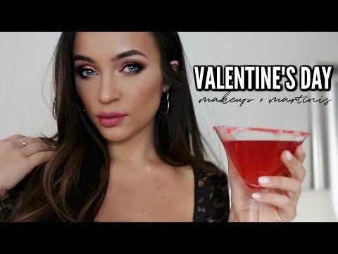 VALENTINE'S DAY MAKEUP + MARTINIS ??Stephanie Ledda thumbnail