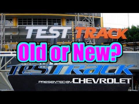 DISNEY TEST TRACK Full Ride - Old vs. New * EPCOT Walt Disney World | DockFam Travel