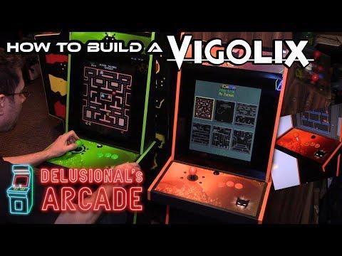 How to build a Vigolix arcade machine [Multicade]