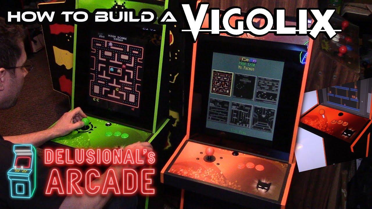 How to build a Vigolix arcade machine [Multicade] - YouTube