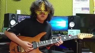 Galneryus-Destiny Crazy Guitar solo 14years old Boy