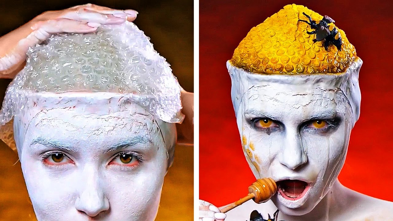Download Horror Movie Makeup For Your SFX Look || Creepy Halloween Costume Ideas