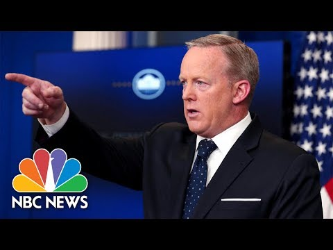 Sean Spicer's Greatest Hits | NBC News