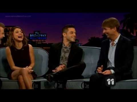 """Rami Malek """"bullied"""" in school / learns to be sexy 