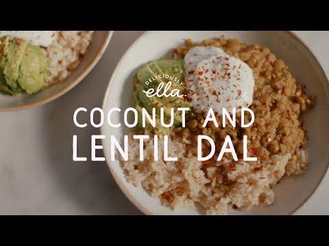 Coconut and Lentil Dal | Deliciously Ella | Vegan