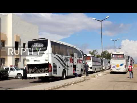 Syria: 300 anti-govt fighters leave Homs' last opposition-held district