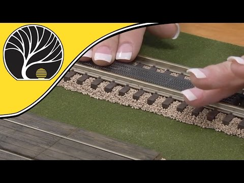 How-to Install Grade Crossings – N, HO & O scale | Model Scenery | Woodland Scenics