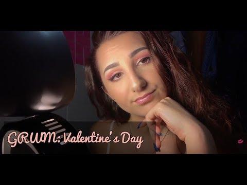 GRWM: Valentines Day