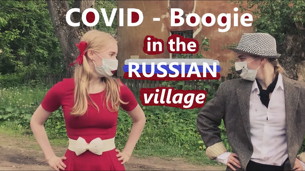 Boogie woogie COVID-19 in Russian village - Little Richard Bootcamp