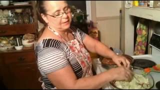 appalachian cooking with Brenda-- cabbage casserole very tasty