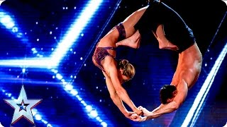 Katy and Paul leave the Judges in a spin | Week 2 Auditions | Britain's Got Talent 2016