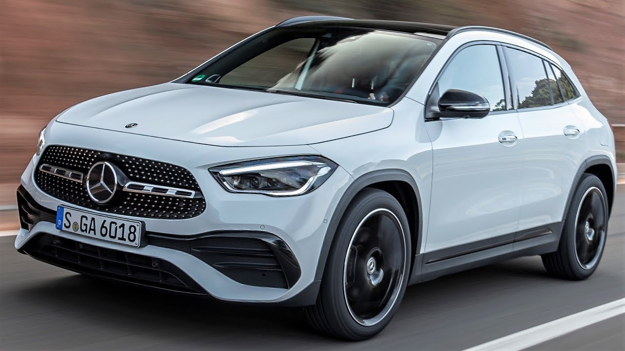 2020 Mercedes Gla 250 4matic Spacious And Practical Luxury Suv Youtube