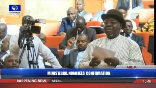 Ministerial Confirmation: Senate Confirms Amaechi, 17 Other Nominees Pt 4