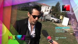 Making of Stefan Banica ft Marius Moga - Ce E Dragostea @ Music Channel News