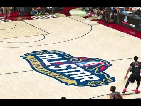 All Star Game New Orleans - East vs West NBA 2k17
