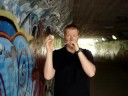 Stone Fox Chase harmonica in the tunnel