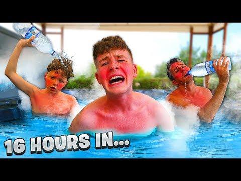 Last To Leave Hot Tub Wins $10,000 - Challenge
