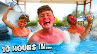 Last To Leave Hot Tub Wins $10,000 - Challenge Video