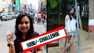 Commercial Street | 1000 rs challenge | Haul