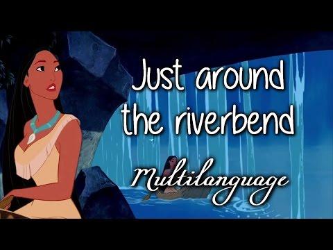 Pocahontas - Just Around The Riverbend (Soundtrack Multilanguage) w/lyrics