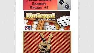 Учимся играть в Нарды! (Длинные нарды) Вводный Урок №1