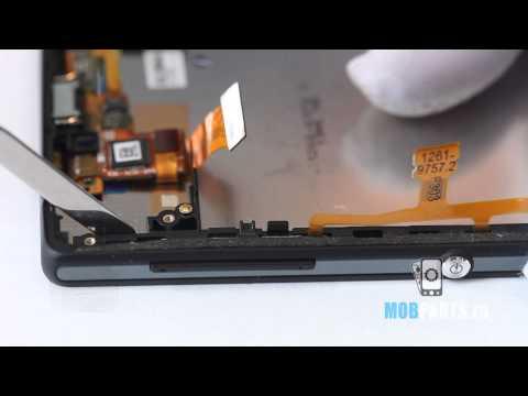 Sony Xperia ZL как разобрать, ремонт и сборка Xperia ZL