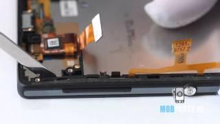 sony Xperia ZL - как разобрать смартфон и обзор запчастей