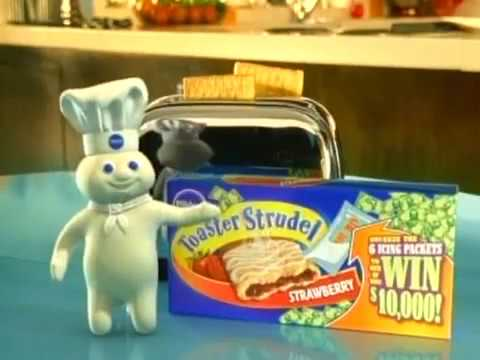 Pillsbury Toaster Strudel - Prize (2004) Commercial