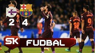 Barsine Bravure za 25. Titulu - Svi Golovi | Deportivo - Barselona 2:4 | SPORT KLUB Fudbal