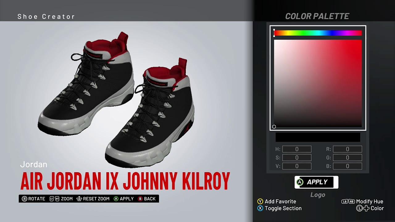 3bc31b6b18c NBA 2K19 Shoe Creator - Air Jordan 9