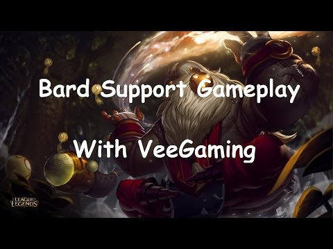 League Of Legends - Bard Support Season 6 Gameplay