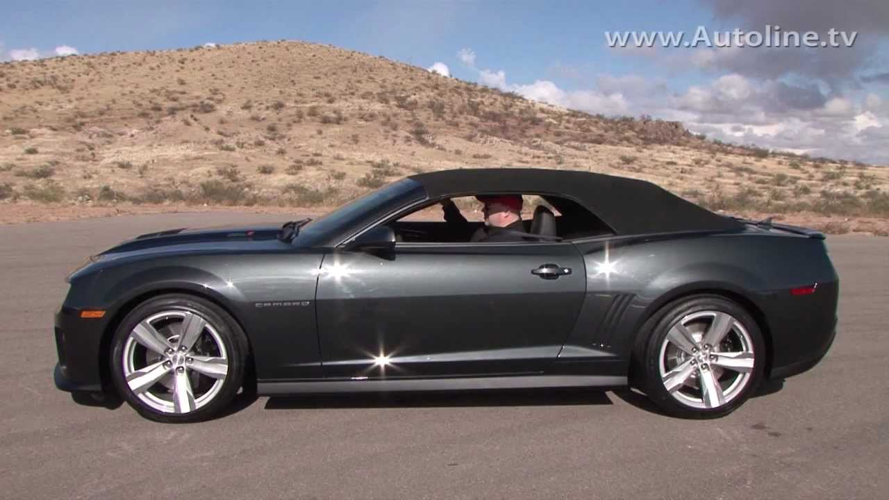 2013 Chevrolet Camaro Zl1 Convertible First Look Youtube