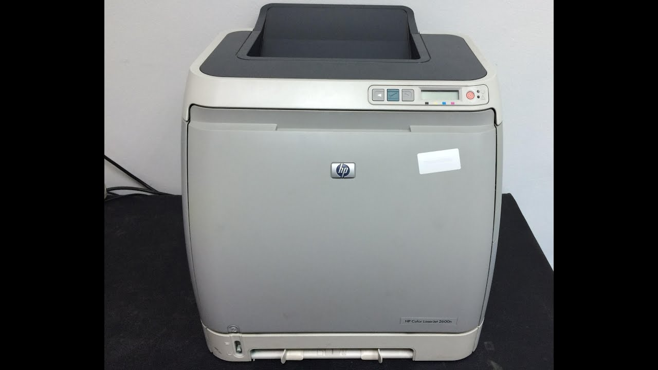 HP LASER 2600N WINDOWS XP DRIVER