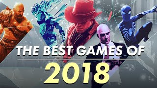 Gamespot's Top 10 Games Of 2018 Montage