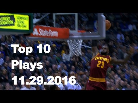 Veja o video – Top 10 NBA Plays: 11.29.16
