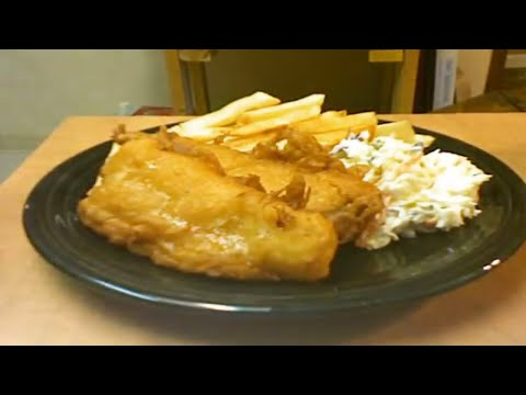 Fish And Chips With Michael's Home Cooking