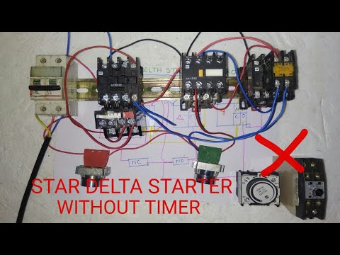 STAR DELTA STARTER WITHOUT TIMER