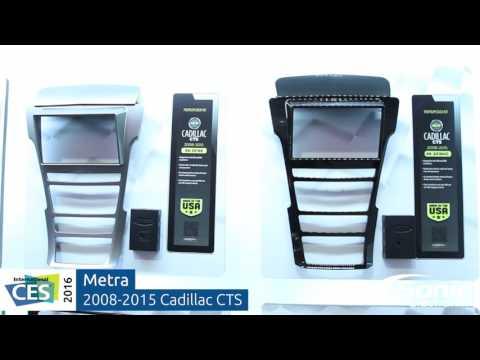 Metra Cadillac CTS 2008-2015 Dash Kits | CES 2016