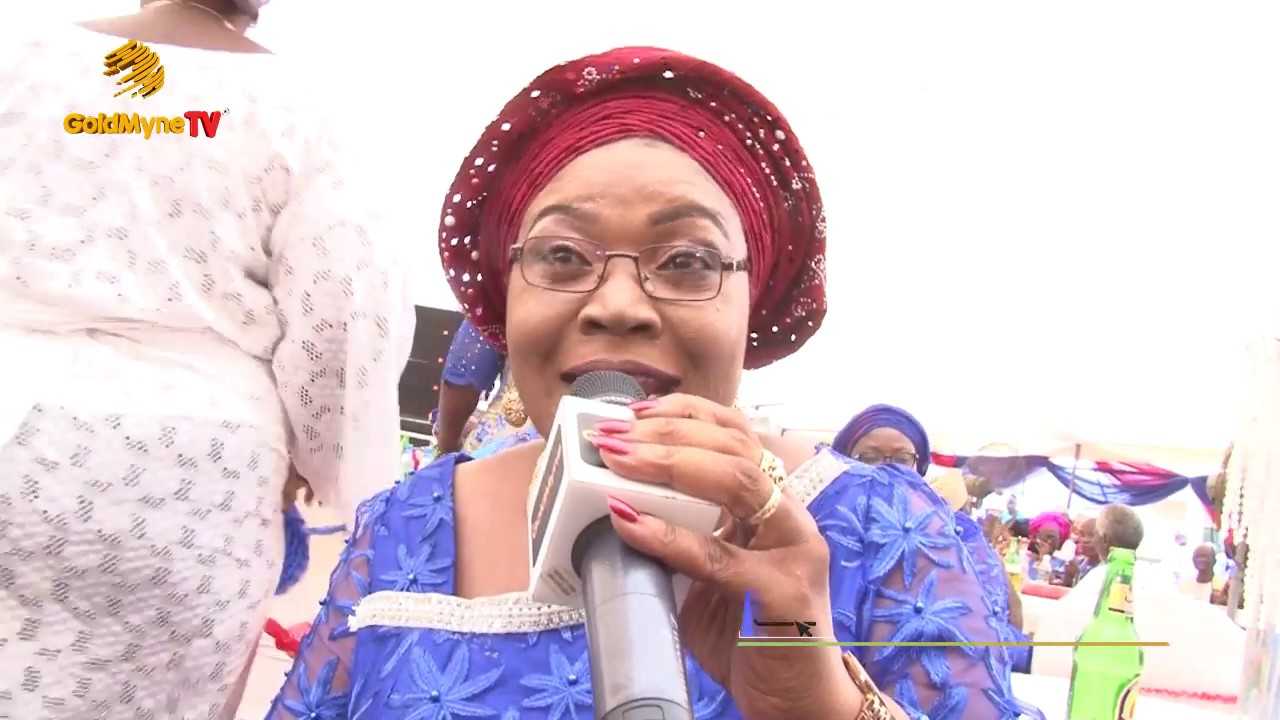 DAYO KUJORE'S PERFORMANCE AT THE BURIAL CEREMONY OF PA