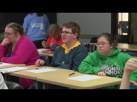 Rock Valley College program offers employment education for students with intellectual disabilities