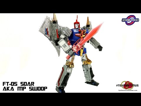 Video Review of the Fans Toys: FT-05 Soar (aka MP Swoop)