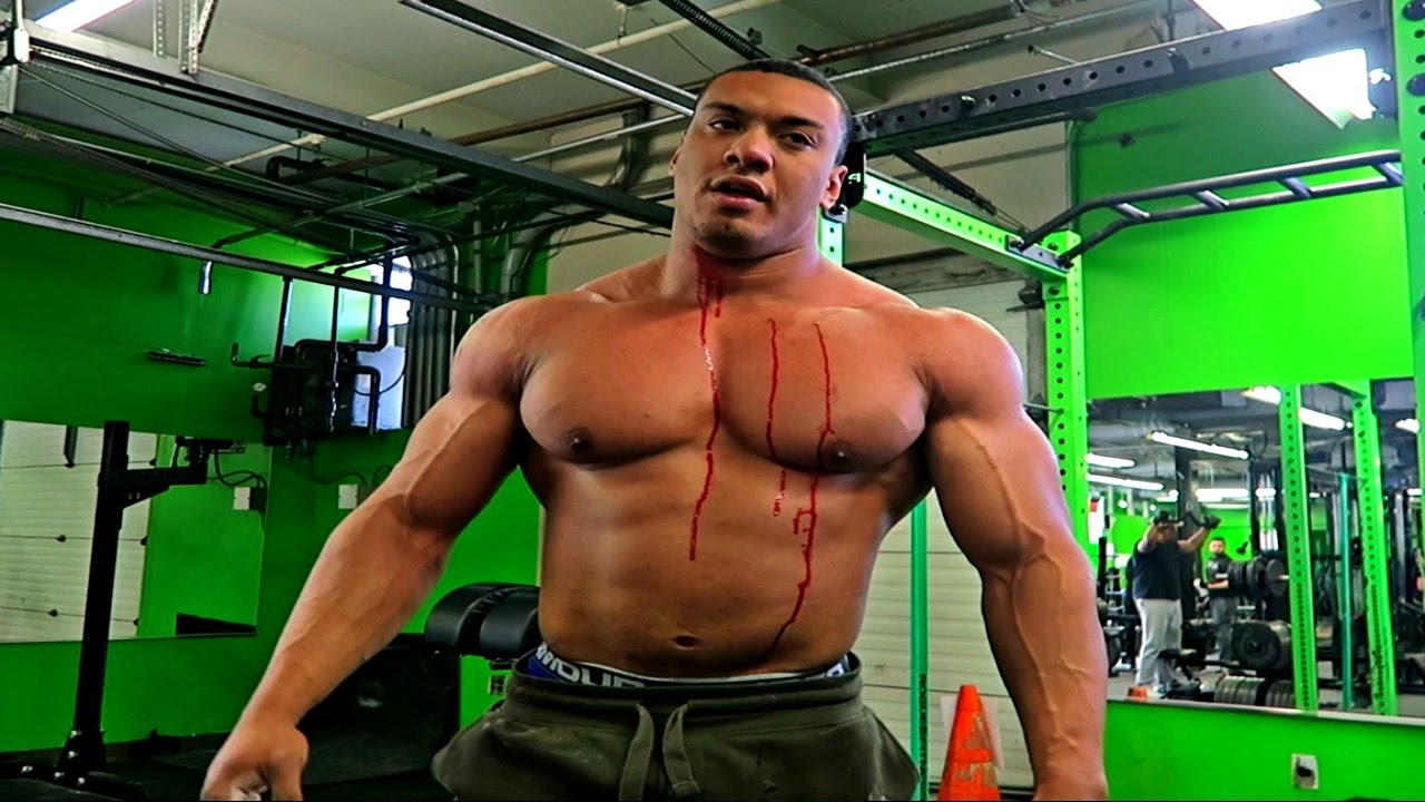 Larry Wheels Bloody Deadlift PR (Ft. Oak & Lydia) - YouTube