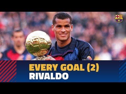 BARÇA GOALS   Rivaldo (1999-2002)